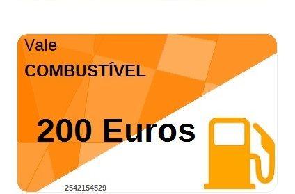 Vale Combustível 200 Euros