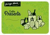 Cartão Presente Pingo Doce 200 Euros