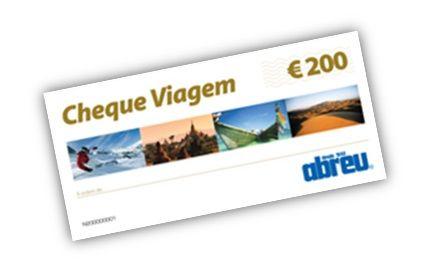 Cheque Viagem €200