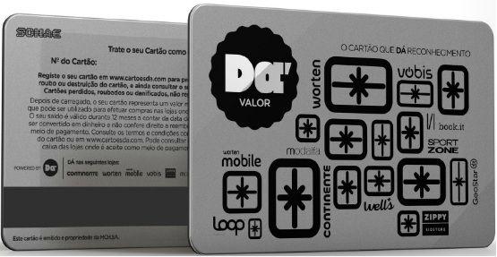 Cartão DÁ Valor 300 Euros